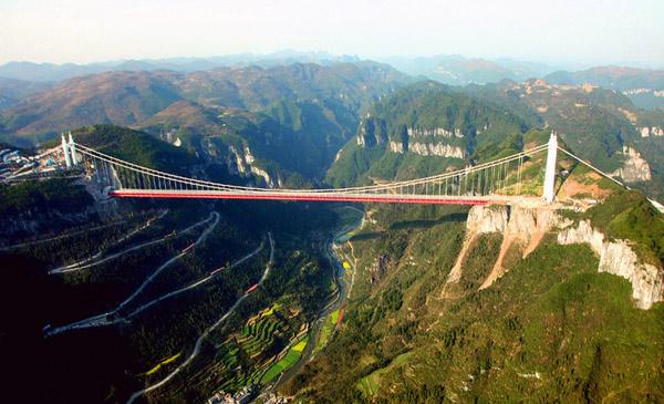 德夯苗寨-美麗的峽谷