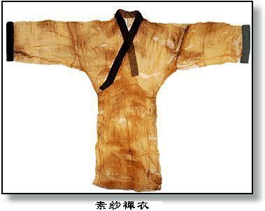 世界最輕和最早的印花織物素紗禅衣
