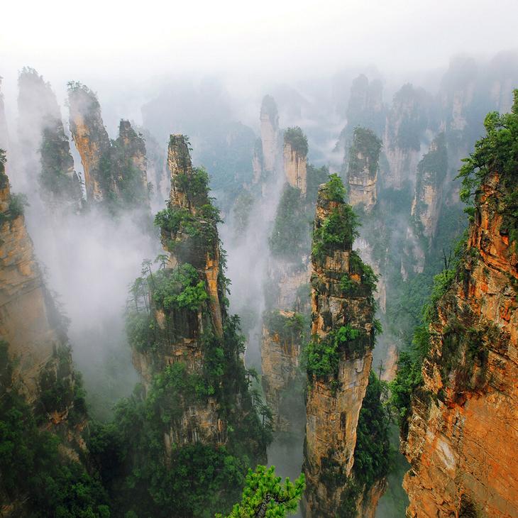 中國最美十大森林公園:張家界國家森林公園奪冠