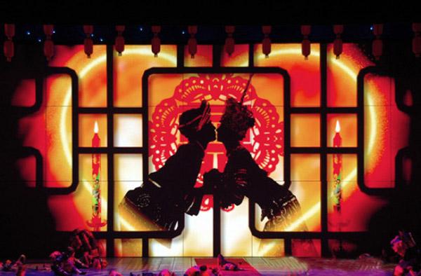 大型民族文化節目《煙雨張家界》4月8日復演