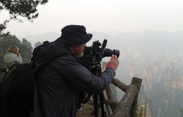 歐美市場開拓見成效 張家界核心景區迎來首批美國攝影團