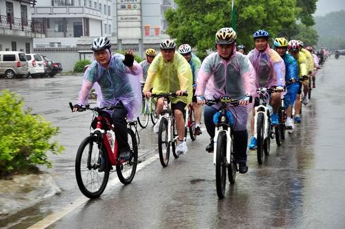 張家界首推自行車遊覽項目 倡導綠色低碳旅行